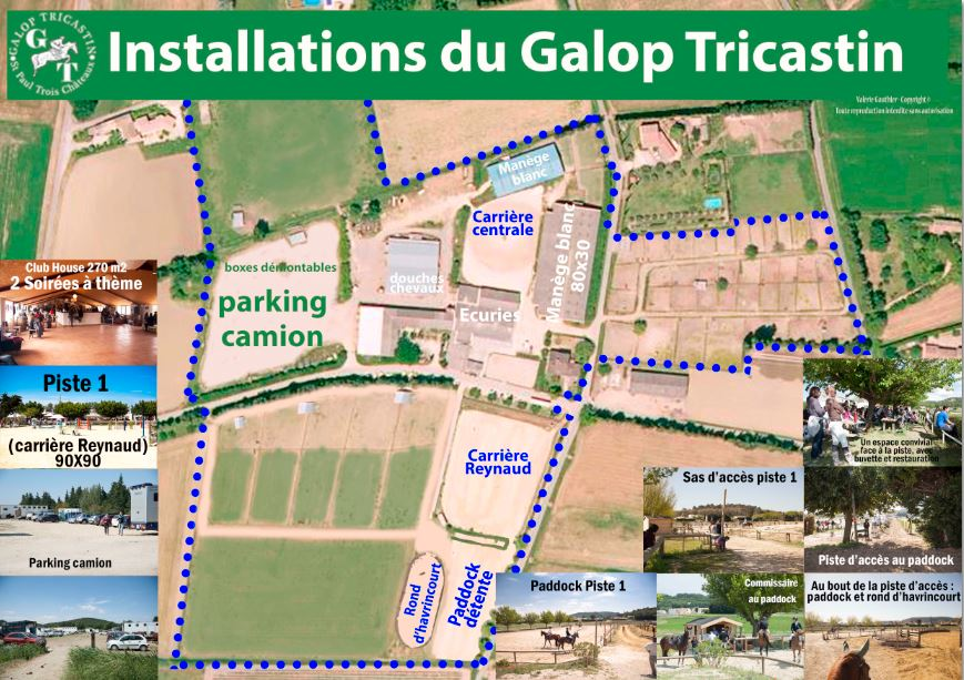 Installations galop tricastin aout 2015